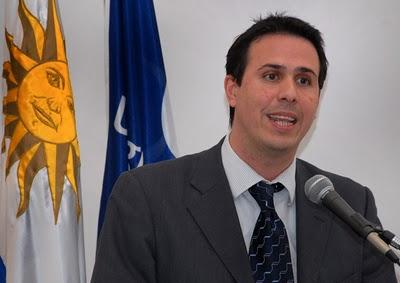Diego Cánepa, pró-secretário da Presidência no Uruguai