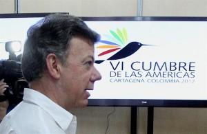 Juan Manoel Santos, presidente da Colômbia