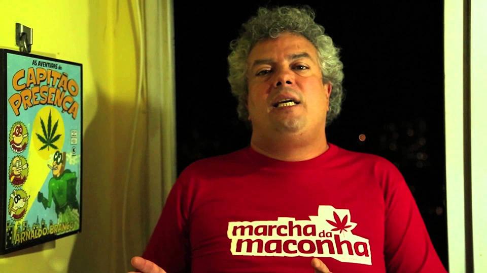 André Barros - marcha da Maconha Nova Iguaçu