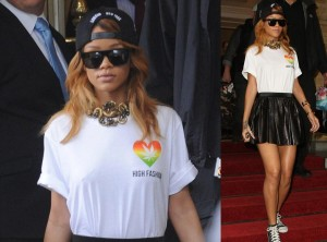 Rihanna na Marcha da Maconha em Amsterdam