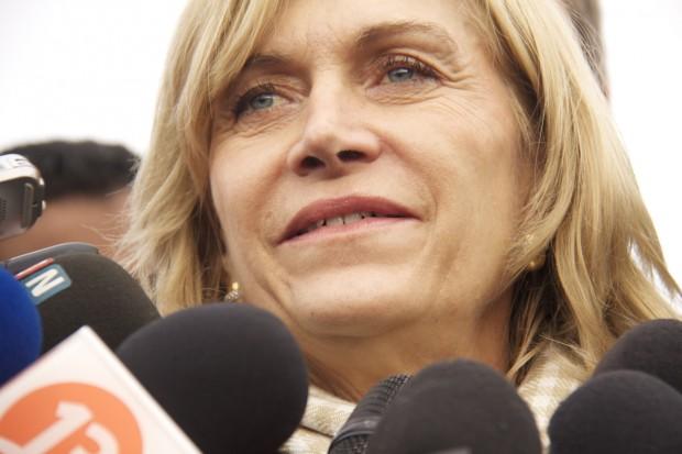 Deputada a favor da legalização Evelyn Matthei