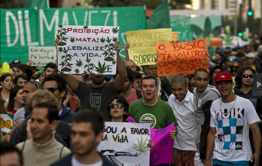 Marcha da maconha São Paulo 2014 - Growroom