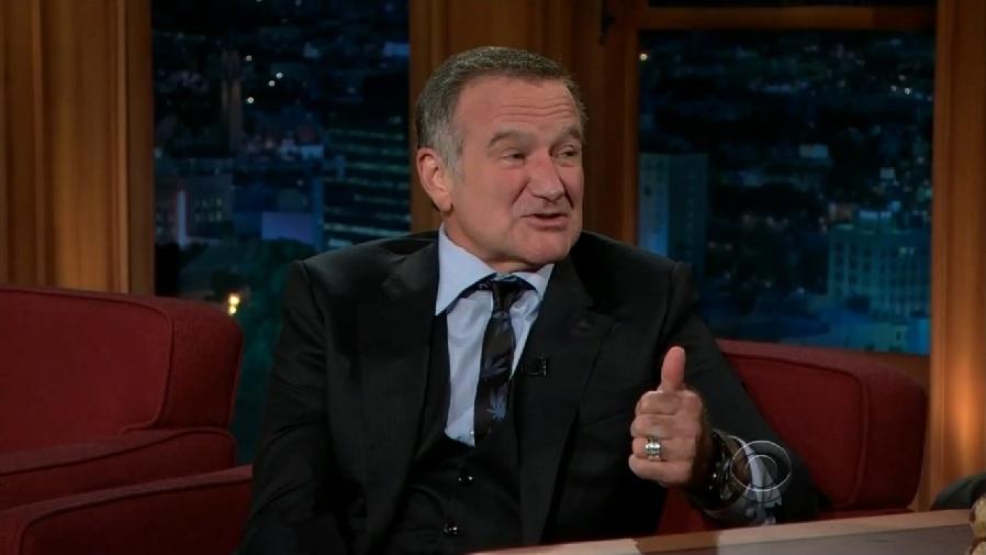 O ator Robin Williams em seu standup Maconha x Alcoól