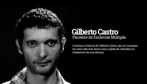 Gilberto Castro - Paciente de Esclerose múltipla faz tratamento com cannabis medicinal