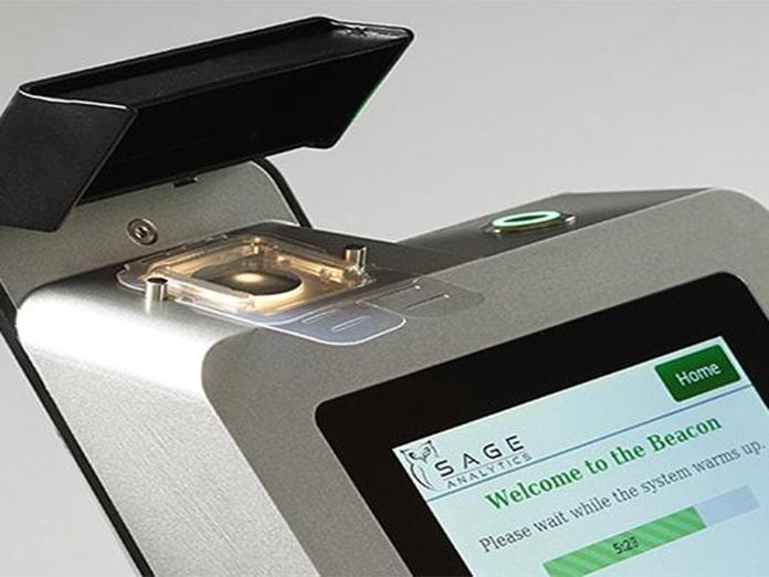 O aparelho Luminary Beacon da empresa Sage Analytics