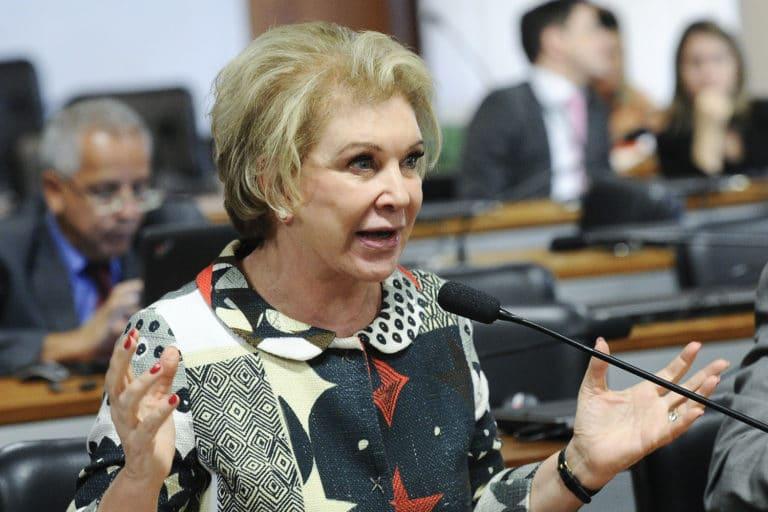 senadora Marta Suplicy durante fala cobre cannabis para uso terapêutico na CDH