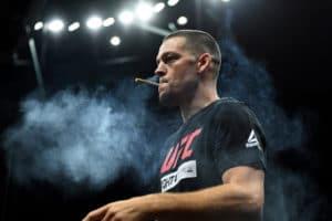 Lutadores de MMA estão usando mais maconha rica em CBD Crédito: Zuffa LLC