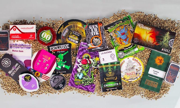 bancos de sementes de maconha - Créditos Growr en Casa