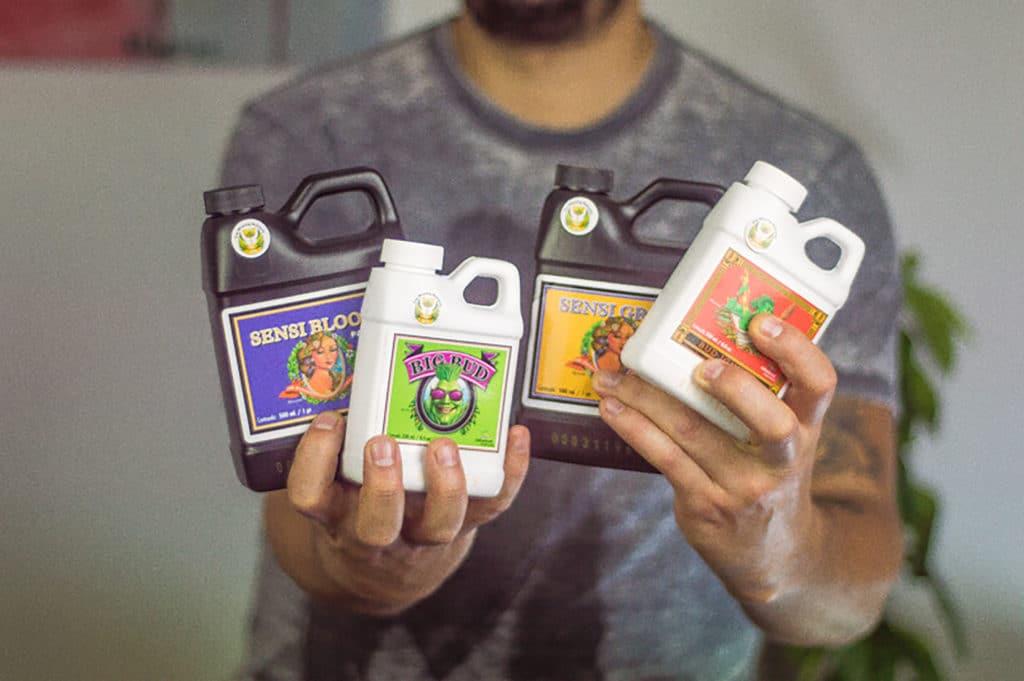 fertilizantes para cultivo de Cannabis